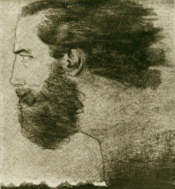 Otto Borngräber, Radierung von A. Sacchetto.
